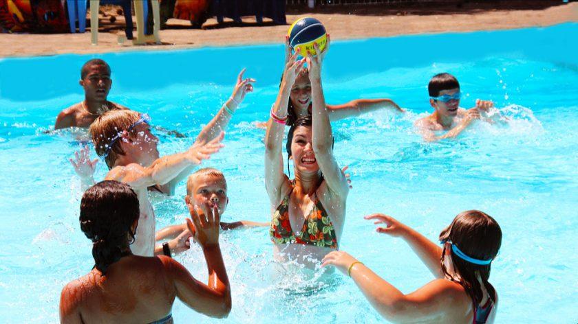 Le jeu piscine du Mercredi: Waterpolo