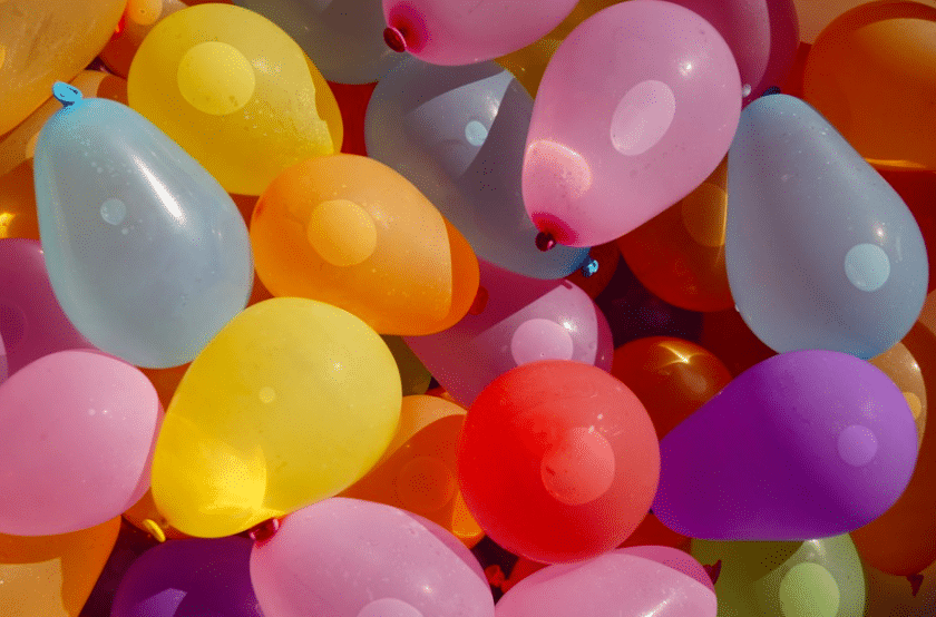 Le jeu piscine du mercredi : Les bombes à eau