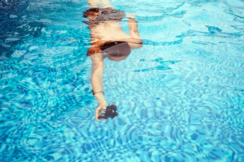 Le jeu piscine du mercredi : le pêcheur